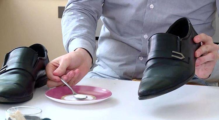 Обработка обуви от неприятного запаха