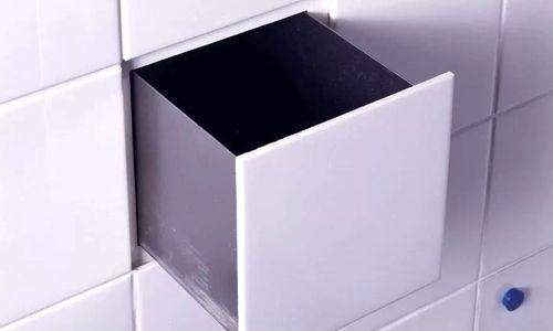 Тайник в стене в плитке