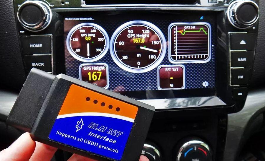 Подключение авто-сканера к ВАЗ