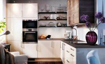 Правильная установка кухонной мебели