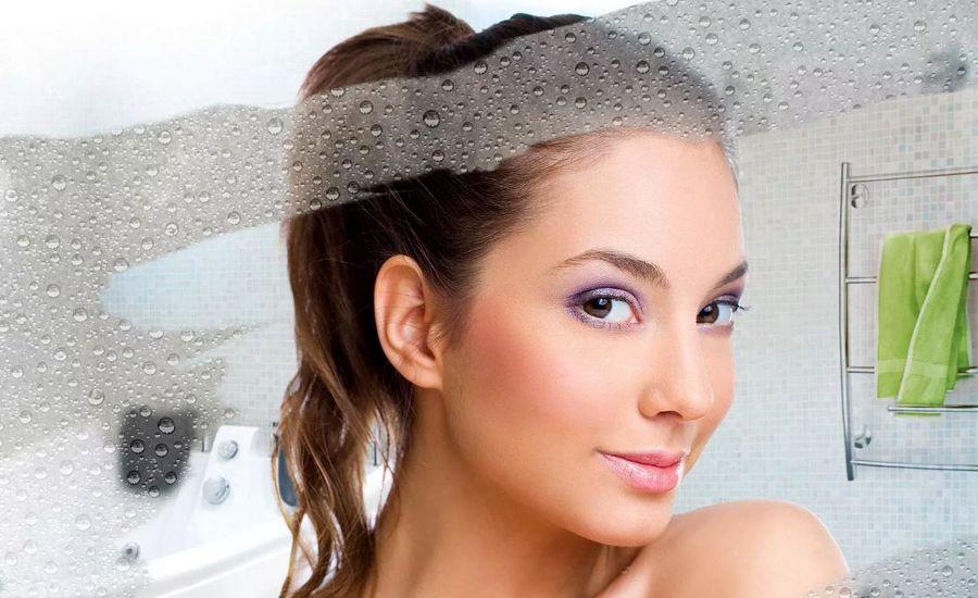 Запотевание зеркала в ванной