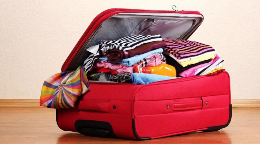 Как сделать чехол на чемодан