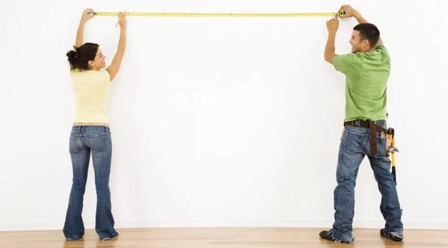 Как посчитать квадратные метры