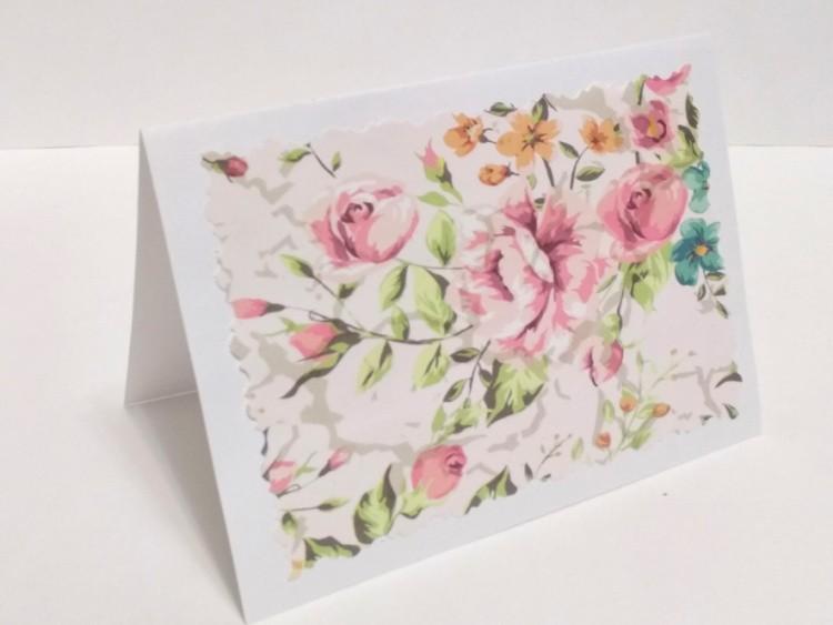 как сделать очень красивую открытку