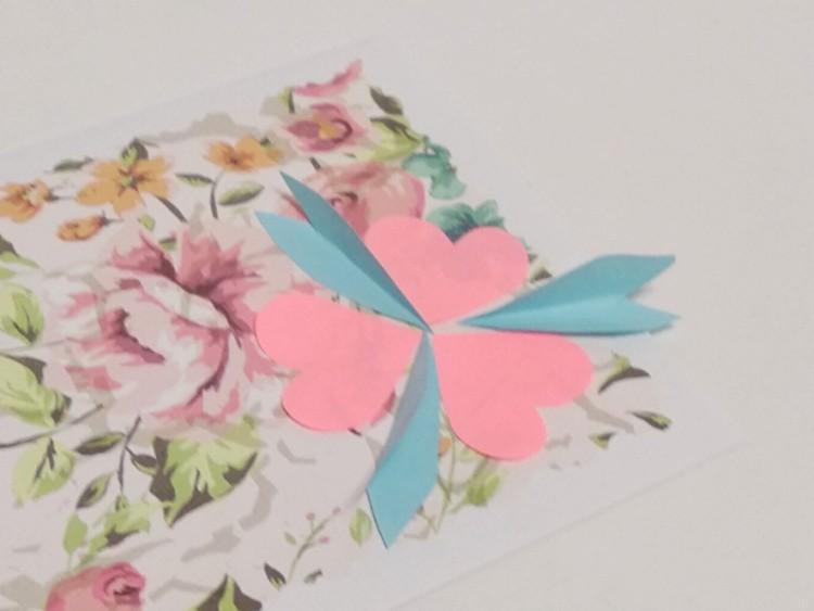 как сделать красивую открытку для мамы