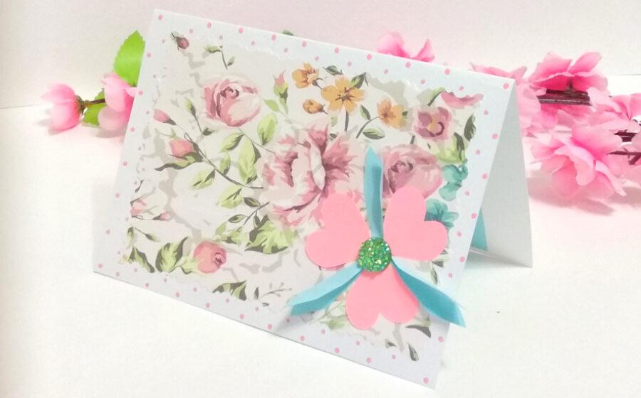 Как сделать красивую открытку